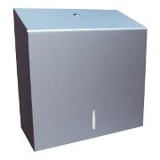 pojemniki i podajniki do ręczników papierowych metalowe i ze stali nierdzewnej