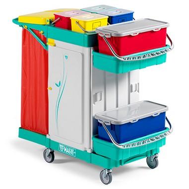 tts magic system wózki do sprzątania