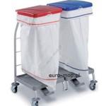 wózki do bielizny szpitalnej brudnej